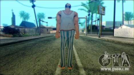 Manhunt Ped 8 pour GTA San Andreas deuxième écran