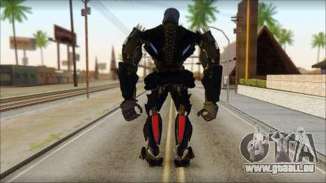 Verrouillage pour GTA San Andreas deuxième écran