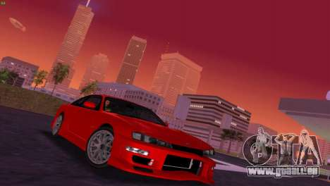 Nissan Silvia S14 RB26DETT Black Revel für GTA Vice City