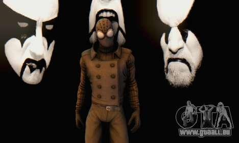Skin The Amazing Spider Man 2 - DLC Noir für GTA San Andreas sechsten Screenshot