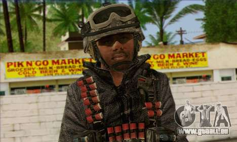 Task Force 141 (CoD: MW 2) Skin 4 für GTA San Andreas dritten Screenshot