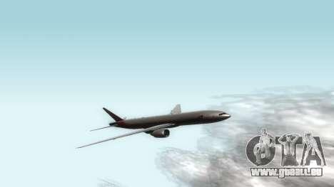 Boeing 777-280ER Asiana Airlines für GTA San Andreas linke Ansicht