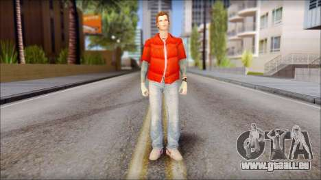 Marty with Vest 1985 pour GTA San Andreas