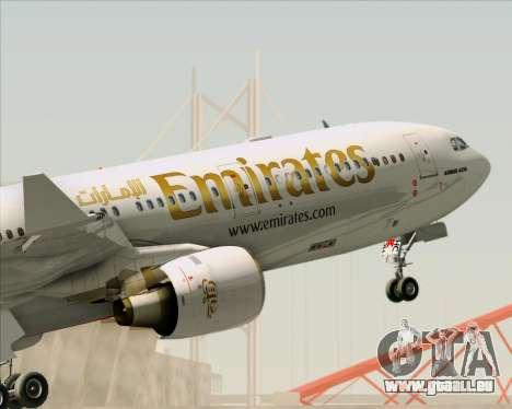 Airbus A330-300 Emirates pour GTA San Andreas roue