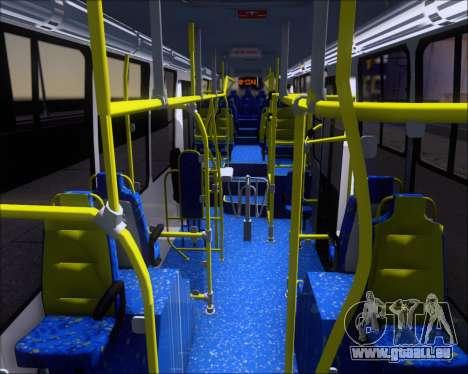 Caio Millennium II Volksbus 17-240 pour GTA San Andreas vue intérieure