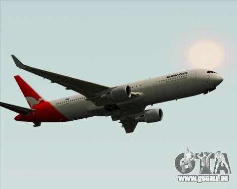 Boeing 767-300ER Qantas pour GTA San Andreas vue de droite