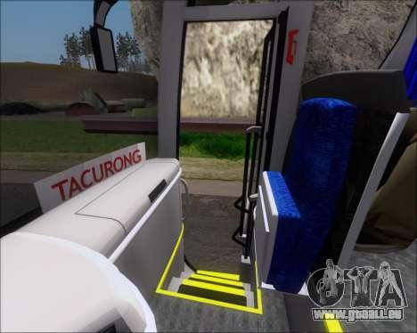 MAN Lion Coach Rural Tours 2790 pour GTA San Andreas roue