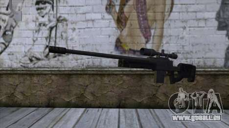 GTA 5 Sniper Rifle pour GTA San Andreas