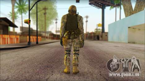 USA Soldier v1 pour GTA San Andreas deuxième écran