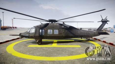 Sikorsky MH-X Silent Hawk [EPM] v2.0 pour GTA 4 est une gauche