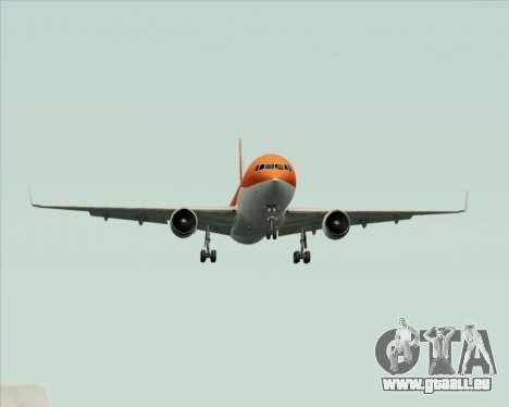 Boeing 767-300ER Australian Airlines pour GTA San Andreas vue de dessus