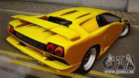 Lamborghini Diablo SV 1997 für GTA San Andreas linke Ansicht