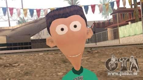 Sheen from Jimmy Neutron für GTA San Andreas dritten Screenshot