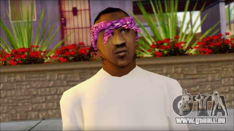 East Side Ballas Skin 1 für GTA San Andreas dritten Screenshot