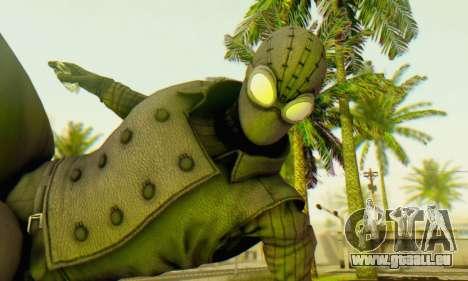 Skin The Amazing Spider Man 2 - DLC Noir pour GTA San Andreas troisième écran