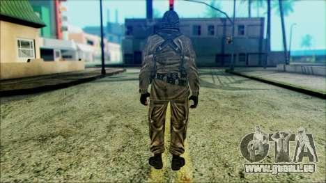 Les soldats aéroportés (CoD: MW2) v6 pour GTA San Andreas deuxième écran