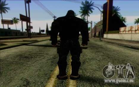 Bane from Batman: Arkham Origins pour GTA San Andreas deuxième écran