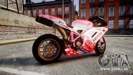 Ducati 1198 R für GTA 4 linke Ansicht