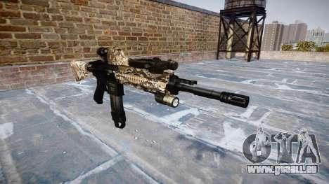 Automatische Gewehr Colt M4A1 viper für GTA 4