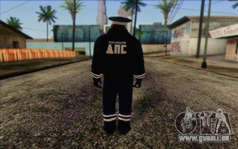 DPS de la Peau 4 pour GTA San Andreas deuxième écran