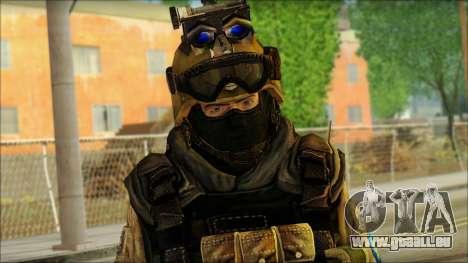 Mercenaire (SC: Blacklist) v3 pour GTA San Andreas troisième écran