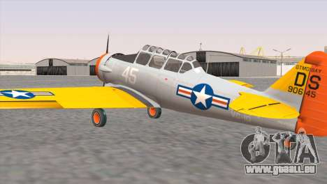 North American T-6 TEXAN N645DS für GTA San Andreas linke Ansicht