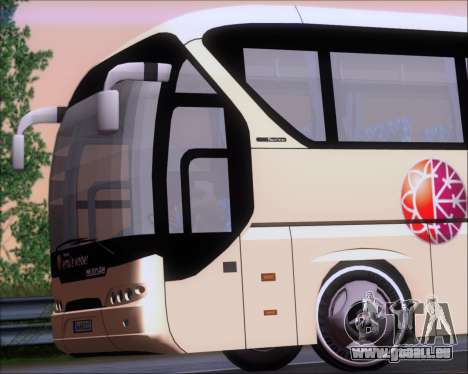 Neoplan Tourliner Emile Weber pour GTA San Andreas vue intérieure