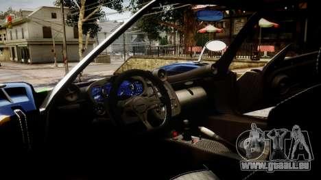 Pagani Zonda Tricolore für GTA 4 rechte Ansicht