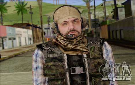 Tanny from ArmA II: PMC für GTA San Andreas dritten Screenshot
