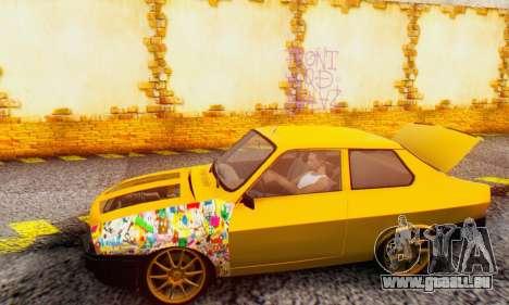 Dacia 1310 Sport Tuning v2 pour GTA San Andreas sur la vue arrière gauche