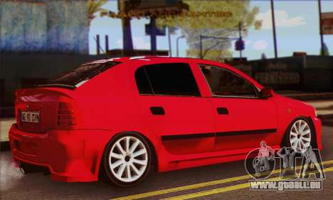 Opel Astra pour GTA San Andreas laissé vue