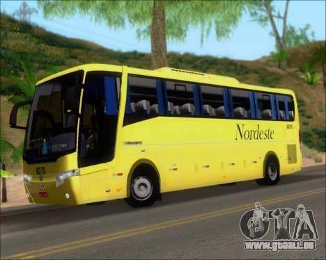 Busscar Elegance 360 Viacao Nordeste 8070 pour GTA San Andreas salon