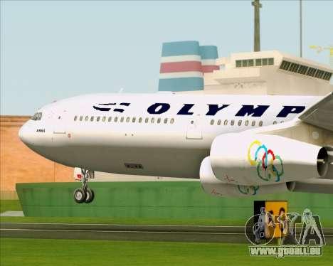 Airbus A340-313 Olympic Airlines pour GTA San Andreas vue de côté