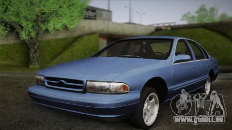 Chevrolet Impala 1996 pour GTA San Andreas