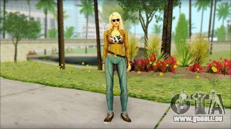 Eva Girl v1 für GTA San Andreas