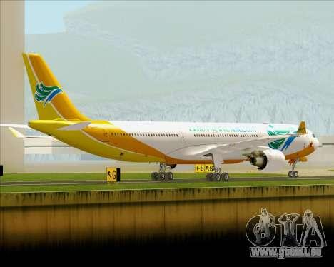 Airbus A330-300 Cebu Pacific Air für GTA San Andreas rechten Ansicht