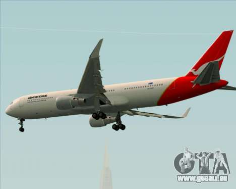 Boeing 767-300ER Qantas pour GTA San Andreas vue arrière