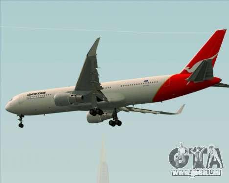 Boeing 767-300ER Qantas für GTA San Andreas Rückansicht