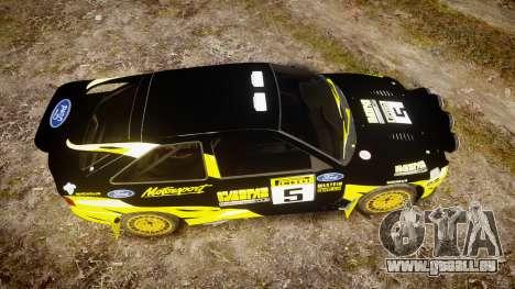 Ford Escort RS Cosworth 2.0 Vespas Team für GTA 4 rechte Ansicht