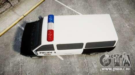 Declasse Burrito Police Transporter ROTORS [ELS] pour GTA 4 est un droit