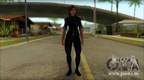 Mass Effect Anna Skin v8 für GTA San Andreas
