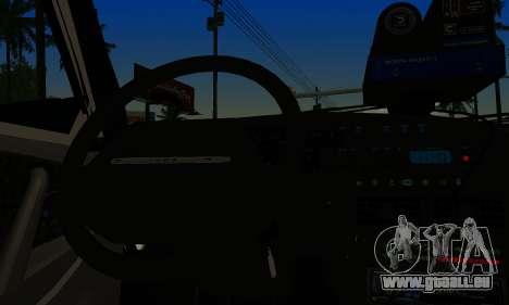 VAZ 2114 DPS für GTA San Andreas zurück linke Ansicht
