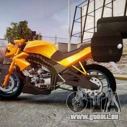 Yamaha V-ixion 150cc pour GTA 4 est une gauche
