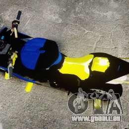 Yamaha R1 2007 Stunt für GTA 4 rechte Ansicht