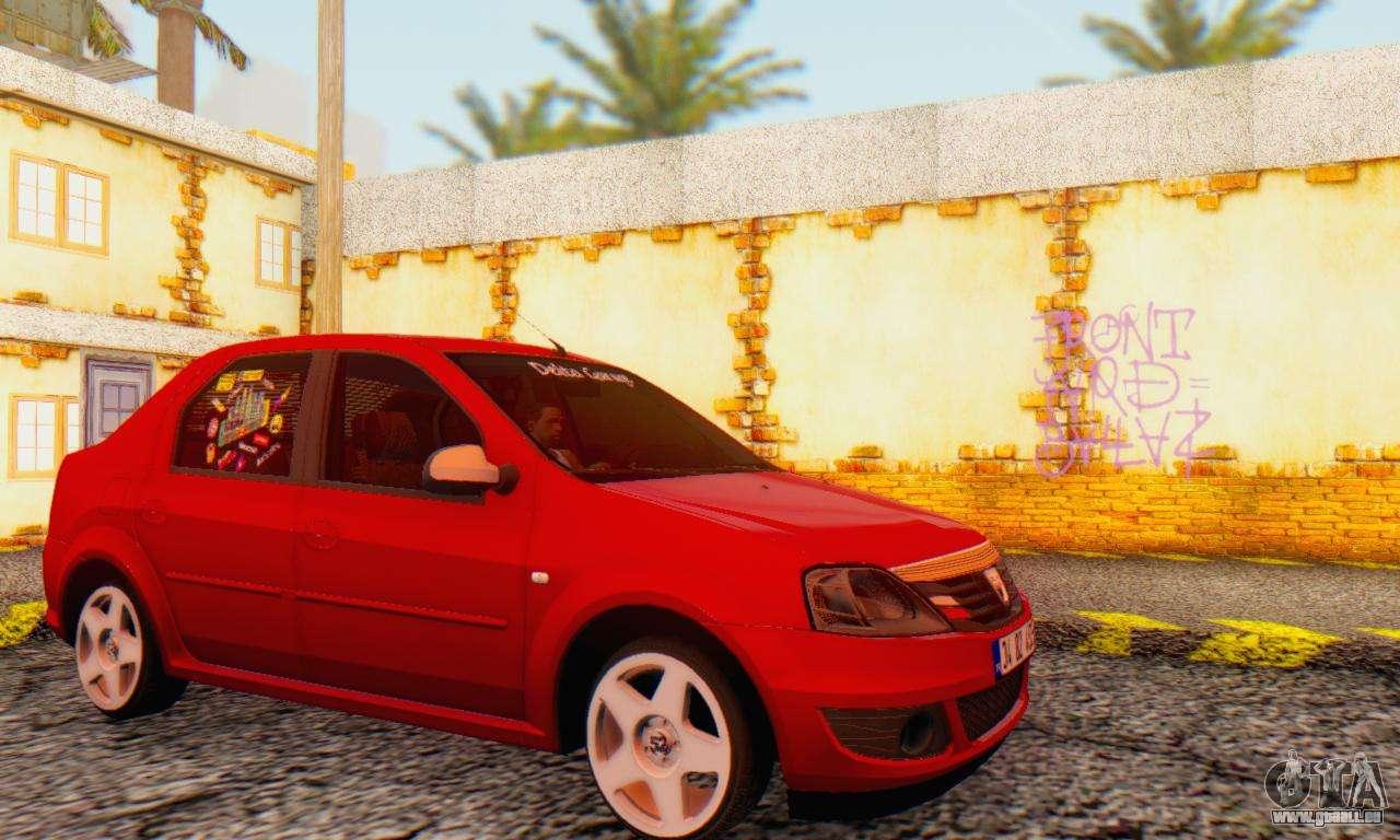 Dacia logan delta garage pour gta san andreas for Voiture garage gta 5 mode histoire