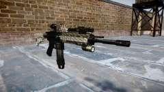 Fusil automatique Colt M4A1 en fibre de carbone