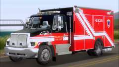 Pierce Commercial TFD Rescue 1