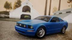 Ford Mustang GT 2005 v2.0 pour GTA San Andreas