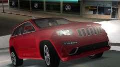 Jeep Grand Cherokee SRT-8 (WK2) 2012 pour GTA Vice City
