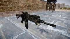 Automatische Gewehr Colt M4A1 kryptek typhon